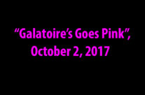 """Galatoire's Goes Pink"", October 2, 2017"